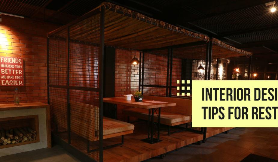 Interior Design Tips For Restaurants Interior Designers Kochi Kerala